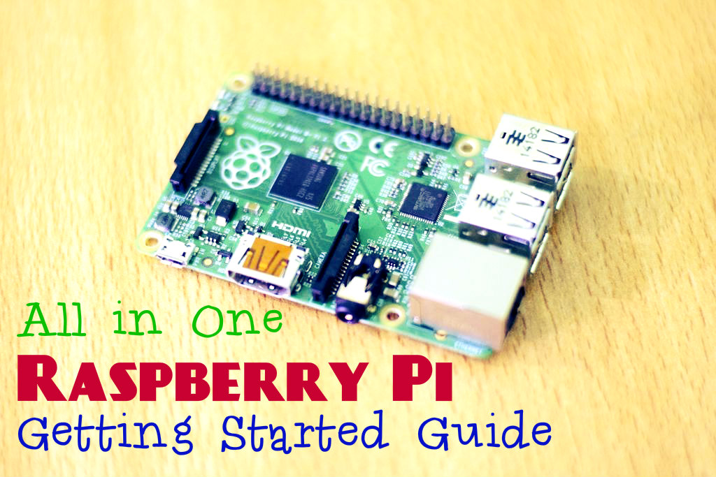 Picture of All-in-One Raspberry Pi Getting Started Guide