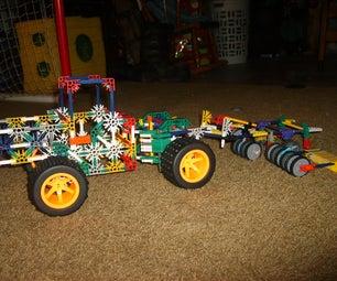 Knex Tractor