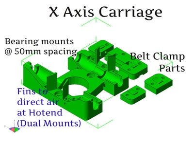 X & Z Axis Assembly