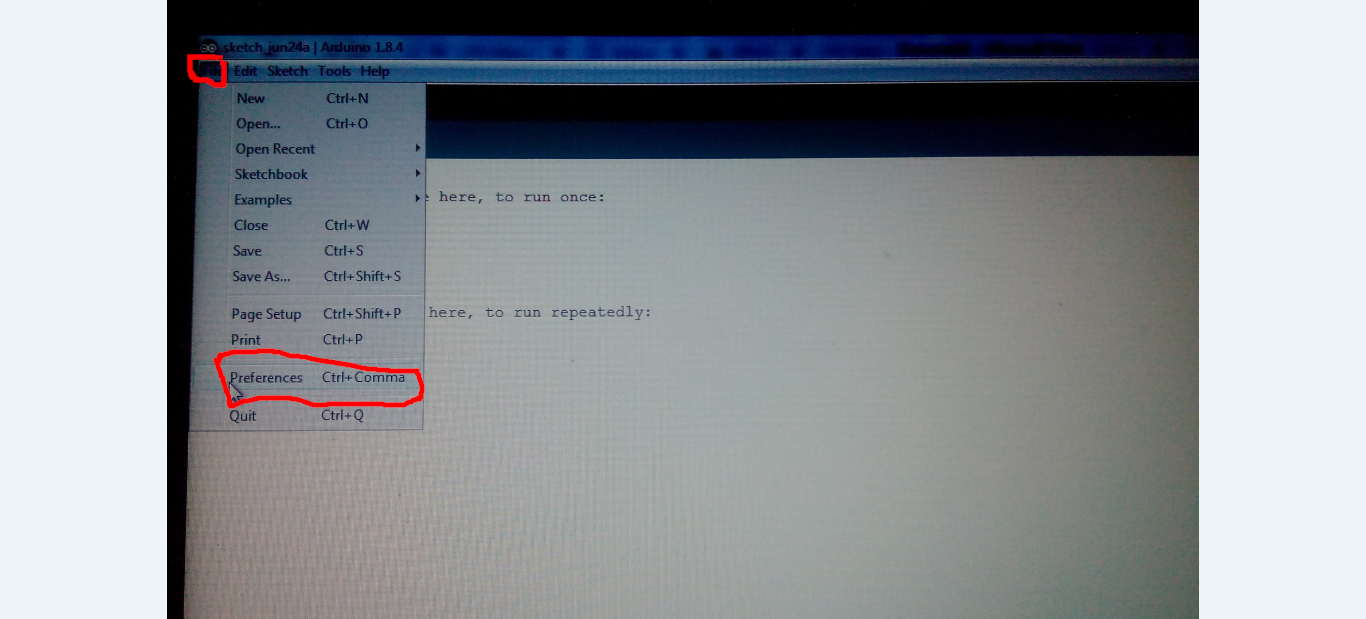 Picture of Setup Arduino IDE for NodeMCU