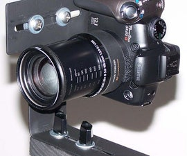 Panoramic Tripod Bracket & Macro Slider (Universal Mod Added)