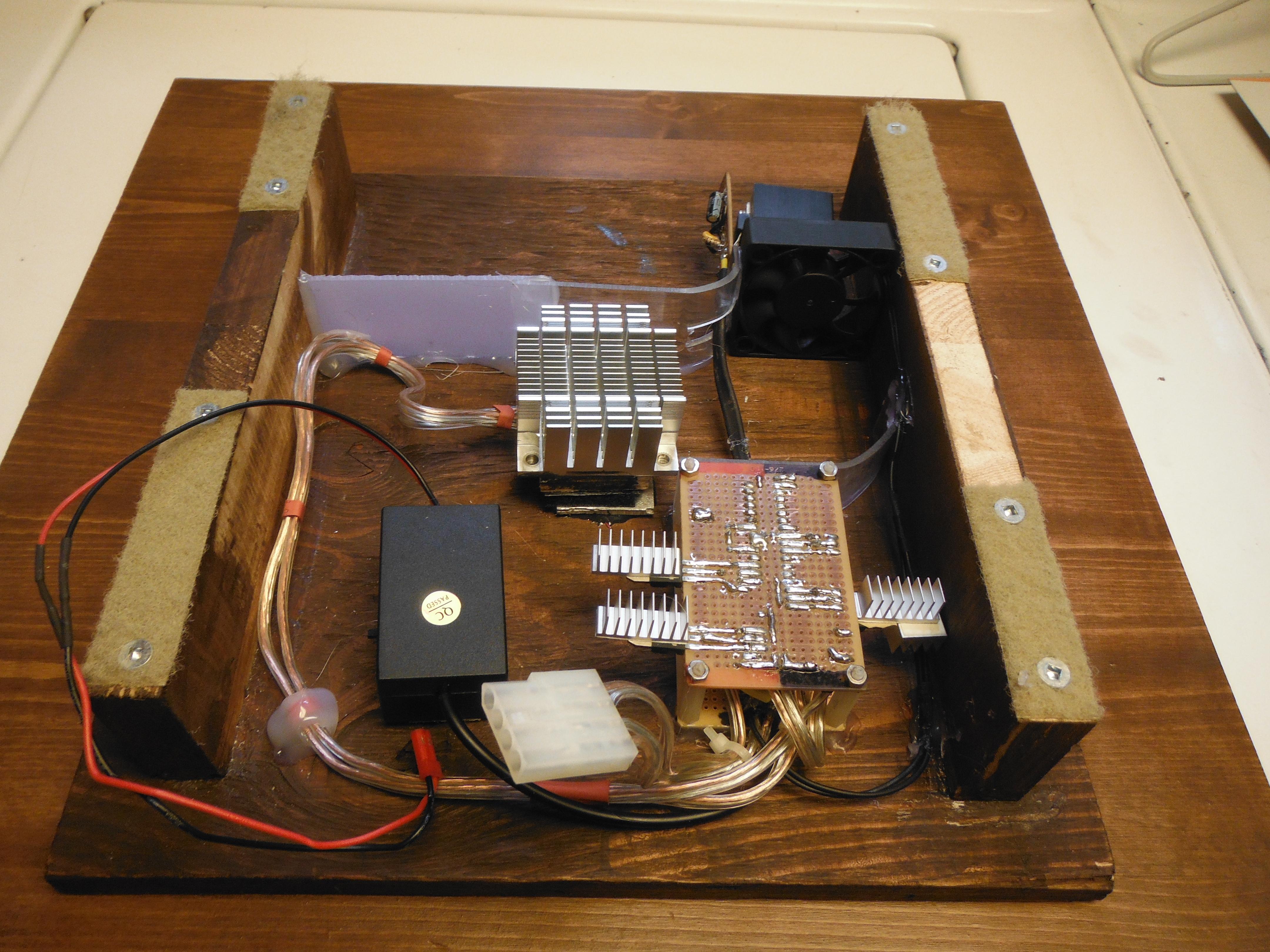 Picture of Fiber-Optics and Final Electronics