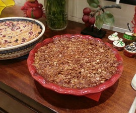 Caramel Apple Deep Dish Spoon Pie