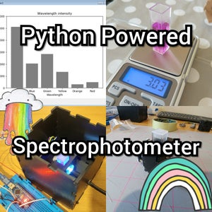 Python Powered Spectrophotometer!