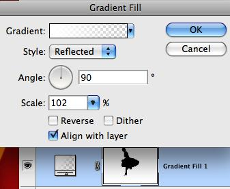 Picture of Gradient Settings