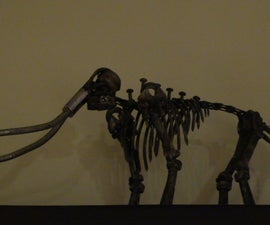 Hardware Mammoth Skeleton