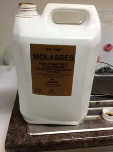 Adding in the Molasses