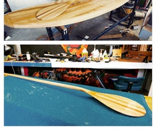 Wooden SUP Paddle From Scratch