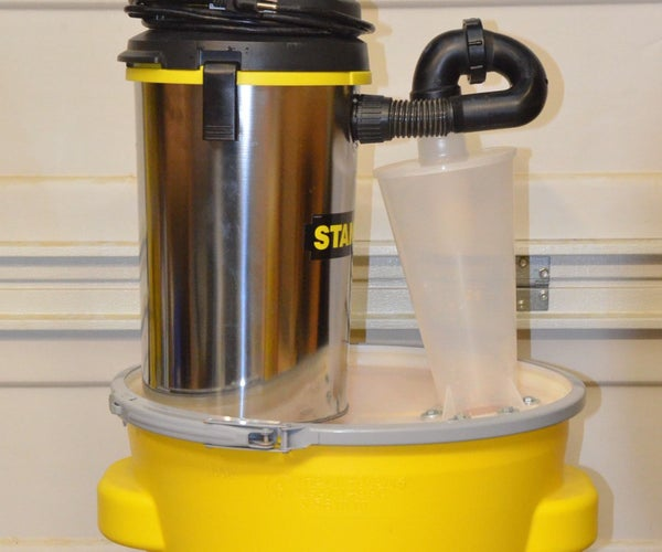 Inexpensive ($134) Self-contained Portable Shop-vac Dust Collector