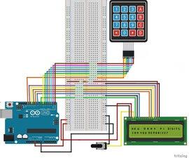 Pi Digits Quiz With Arduino