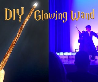 Glowing Wand for Witches and Wizards