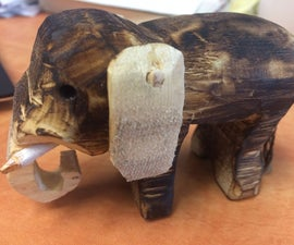 super simple amazing burn finished wood carvings