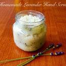 Homemade Lavender Hand Scrub
