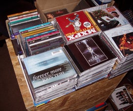 Store twice as many CDs in the same space.