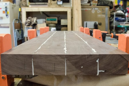 The Initial Glue Up