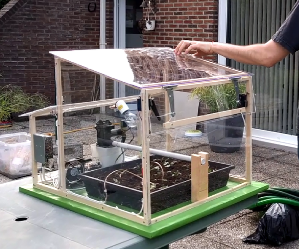 Automated Greenhouse