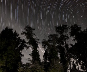 Star Trails Photography and Night Sky Time Lapse