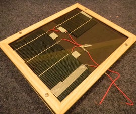 Building a Solar Panel From Cells
