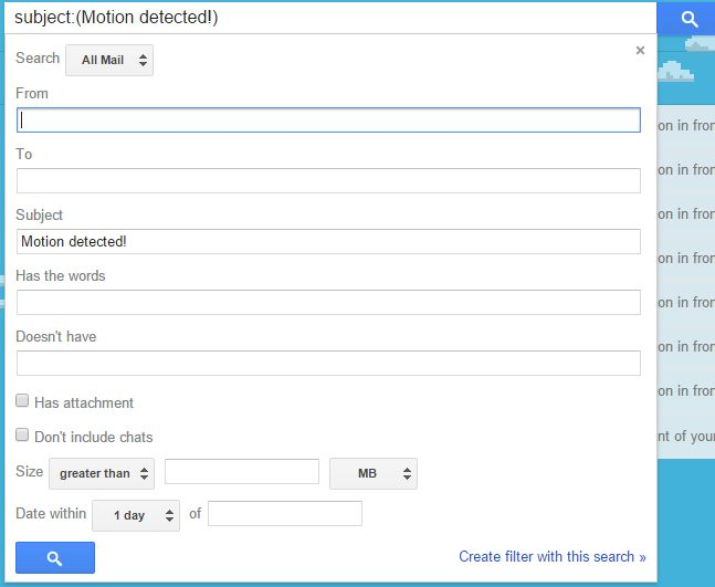 Picture of Detect Motion and Send Pictures at Same Time to Application :