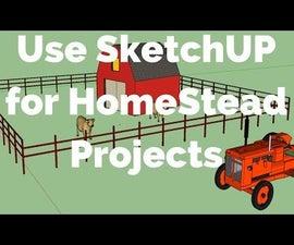Google Sketchup Tutorial - HomeStead Fencing