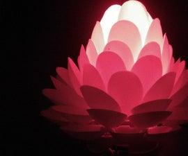 A Gorgeous Lotus Flower Lamp