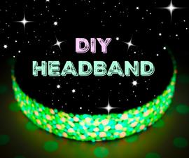 Glow in the dark headband