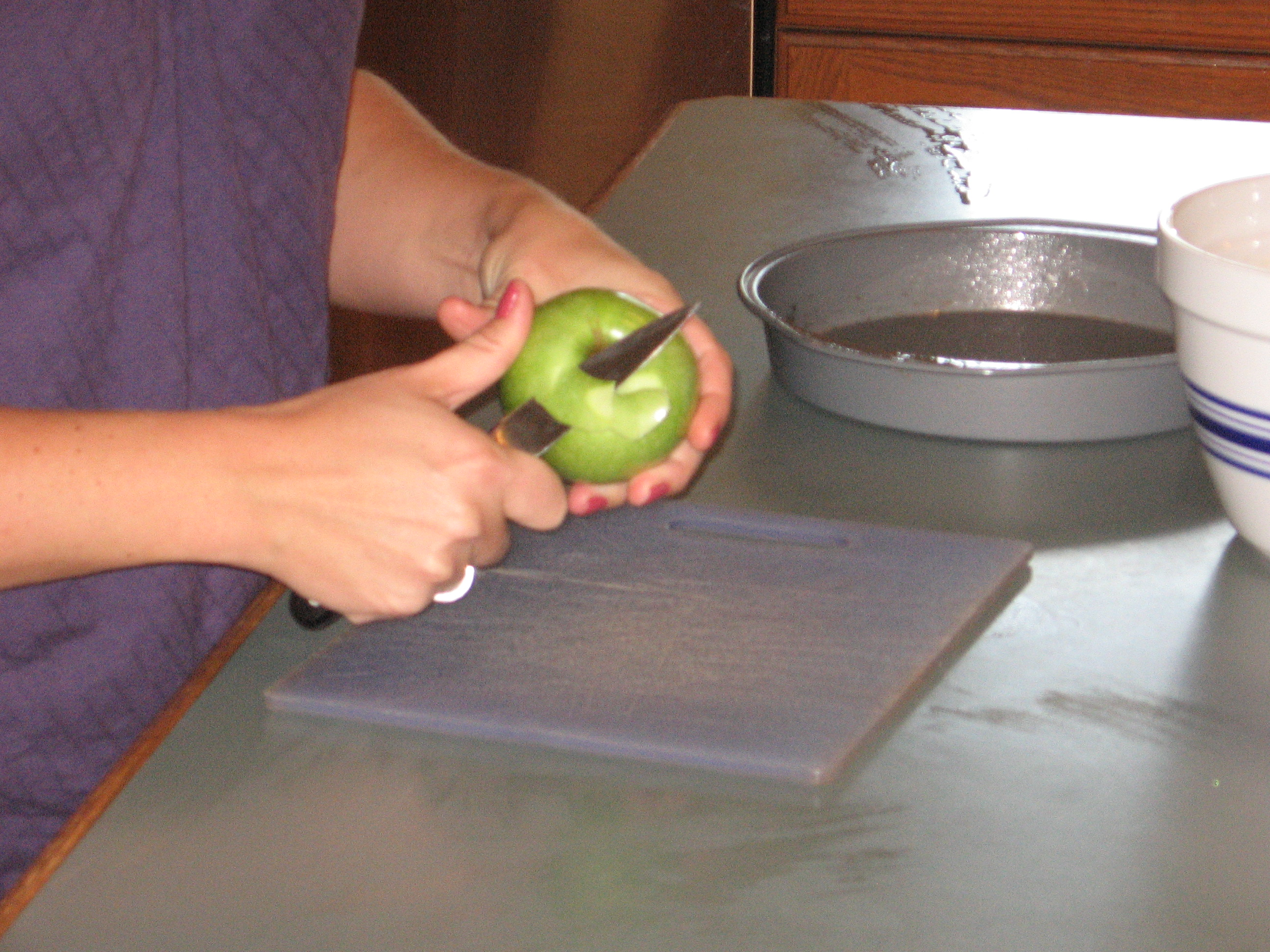 Picture of Peel and Slice Apple