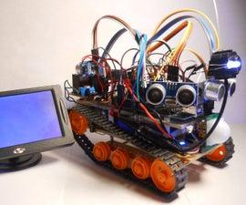 MARS-- Autonomous Multi-functional Rover (FPV)