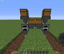 Cheap Minecraft Smelter Unit