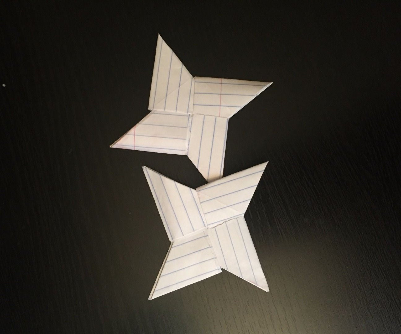 How to Make a Ninja Star Out of Notebook Paper! : 15 Steps ... | 1080x1296