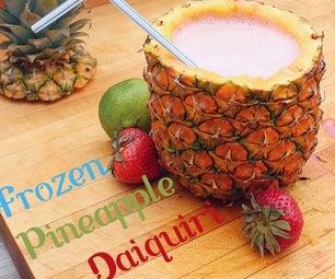 Frozen Strawberry-Lime Pineapple Daiquiri