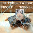 Lichtenberg Figure Wooden Fidget Spinner
