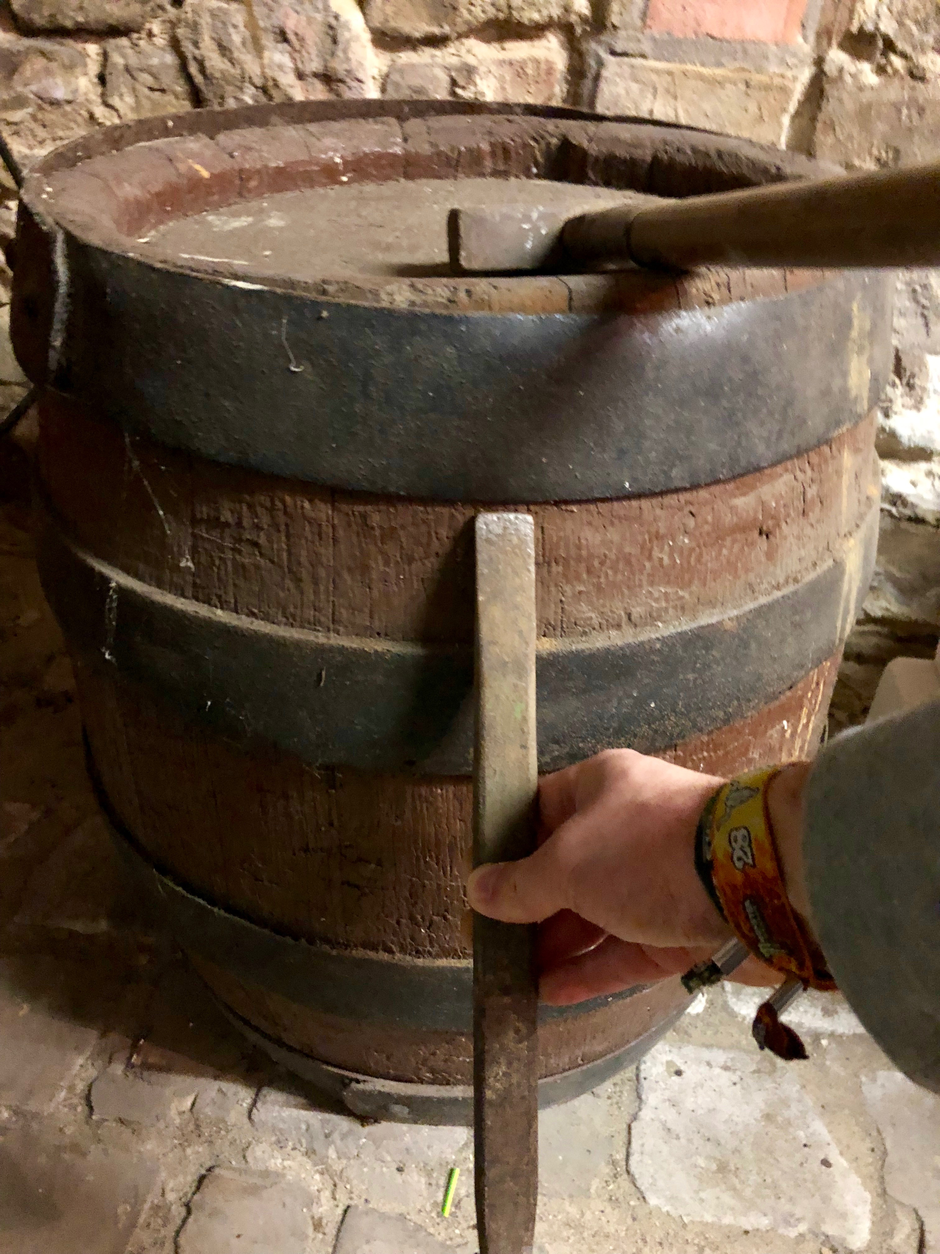 Picture of Dismantle the Old Barrel