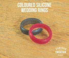 Colourful Silicone Wedding Rings