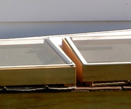 Humid Climate Solar Dehydrator