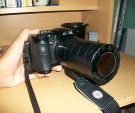 DIY Solar Filter for Camera