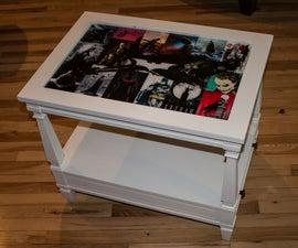 Batman Epoxy Coffee Table