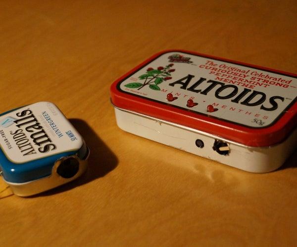 Altoids Mini Motion Tracker
