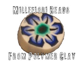 Millefiori Beads from Polymer Clay