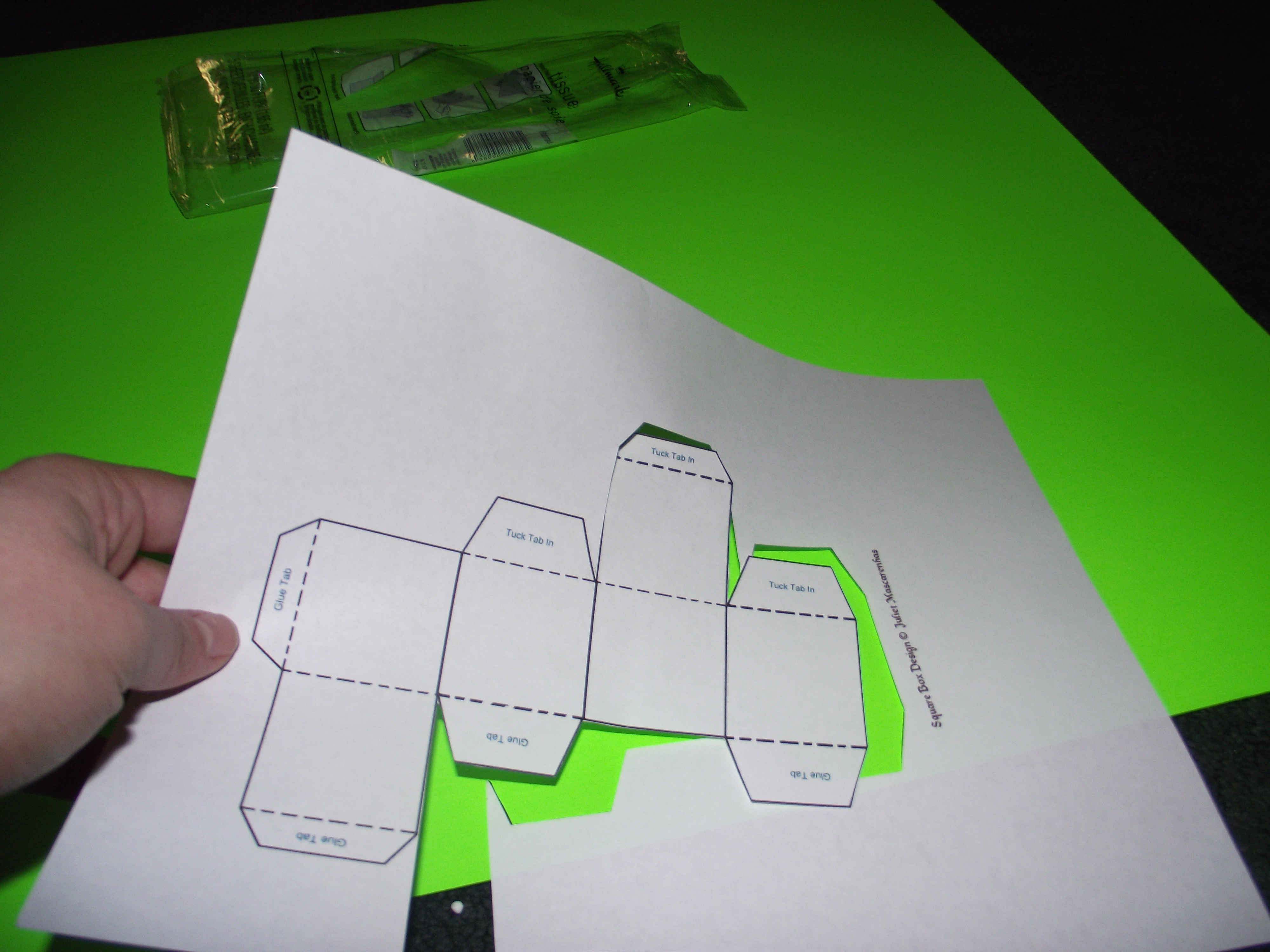 Picture of Make Your Paper Boxes