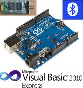 How to Program Arduino Bluetooth Serial Communication in Visual Basic Express 2010