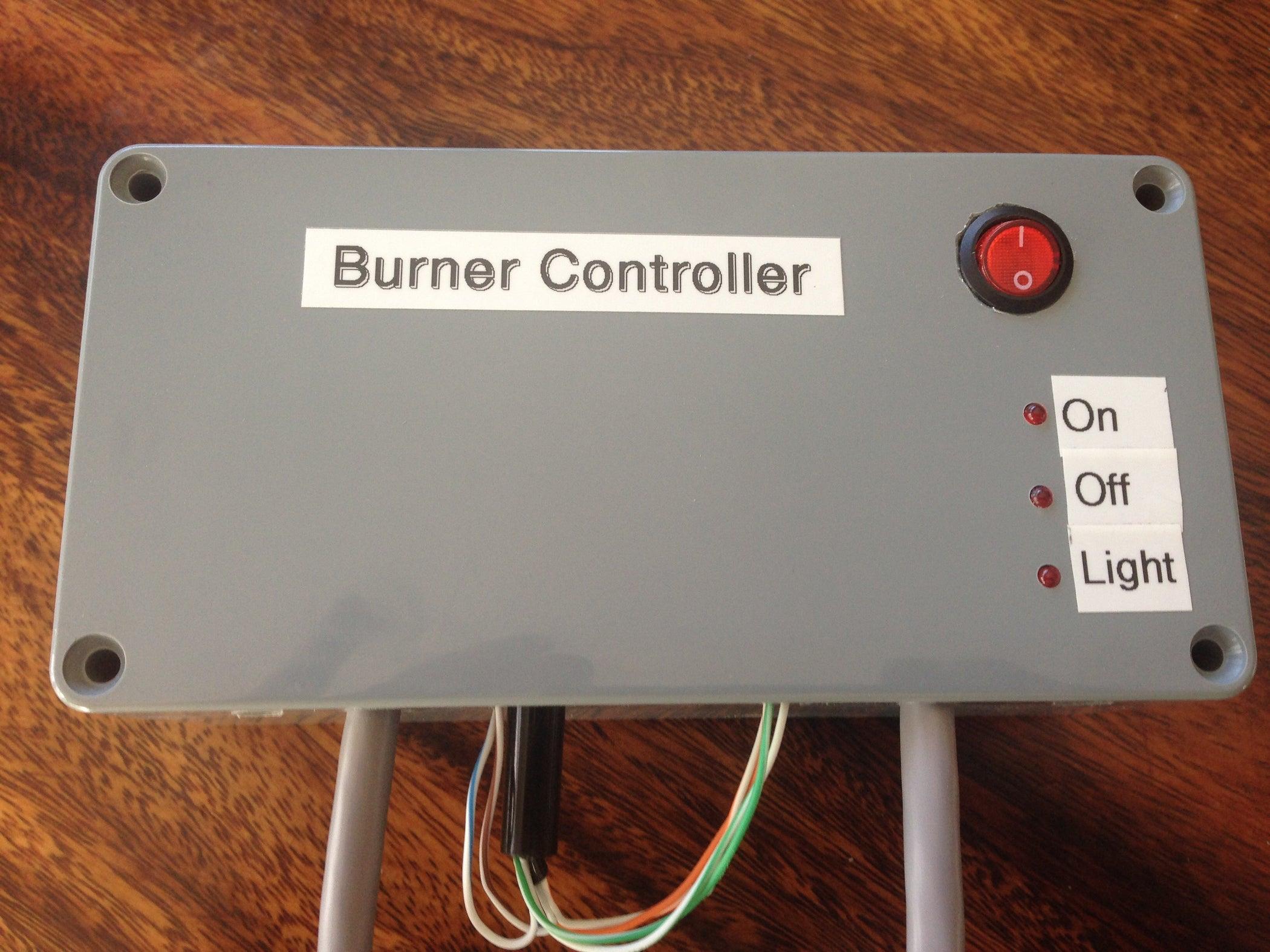 Gas Burner Controller 6 Steps Love Wiring Diagram