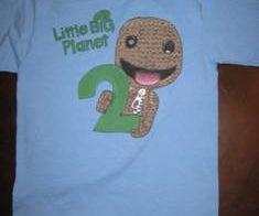 Little Big Planet 2 Sackboy T-Shirt