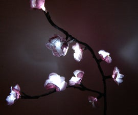 How to Make Cherry Blossom Lights