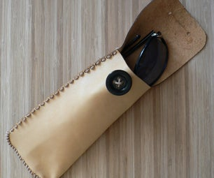 Leather Eyeglasses Case (may Be Laser Cut)