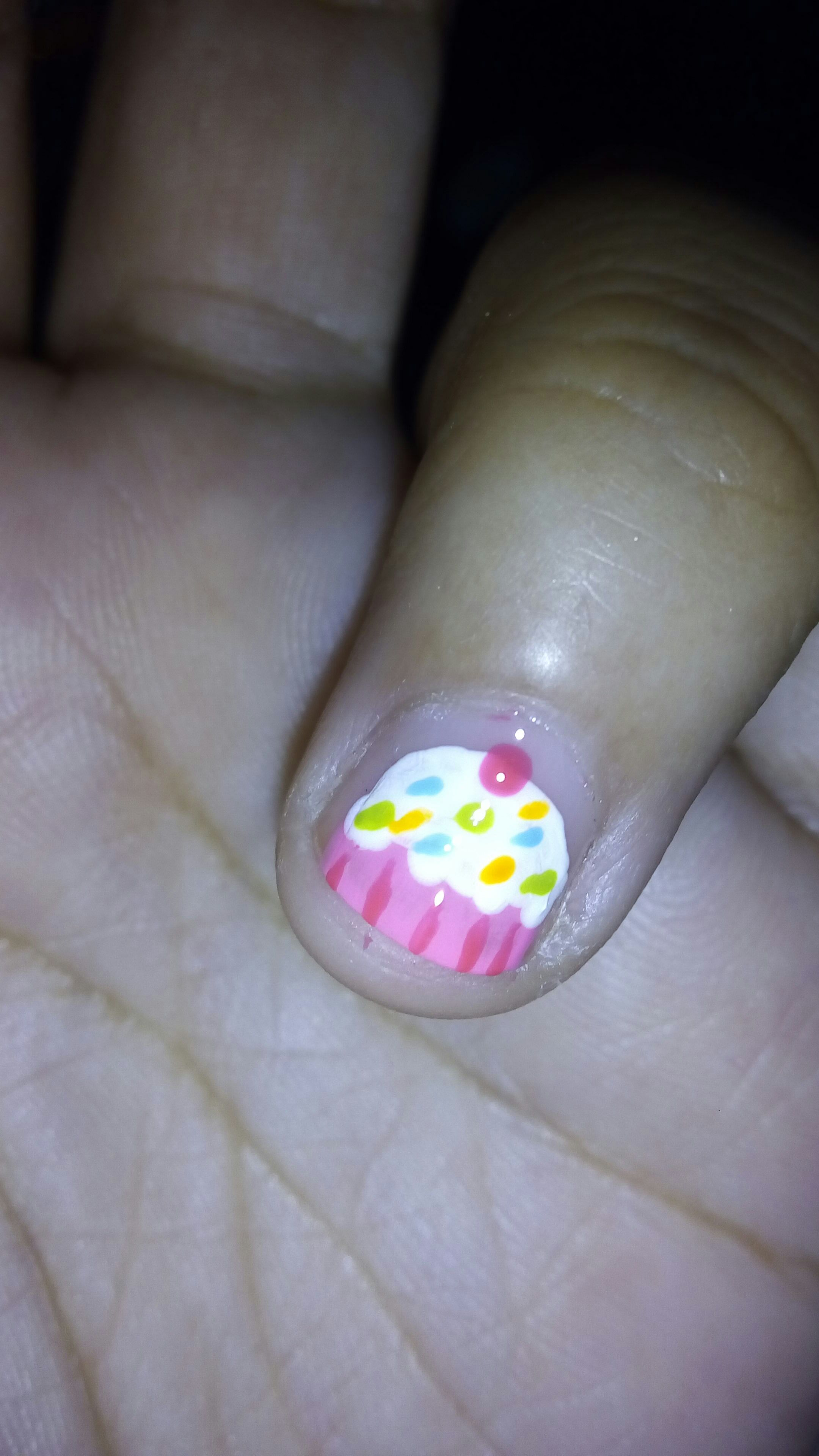 Picture of Cupcake Nail Art