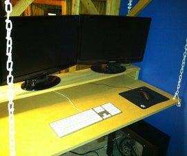 15-Minute Hanging Desk