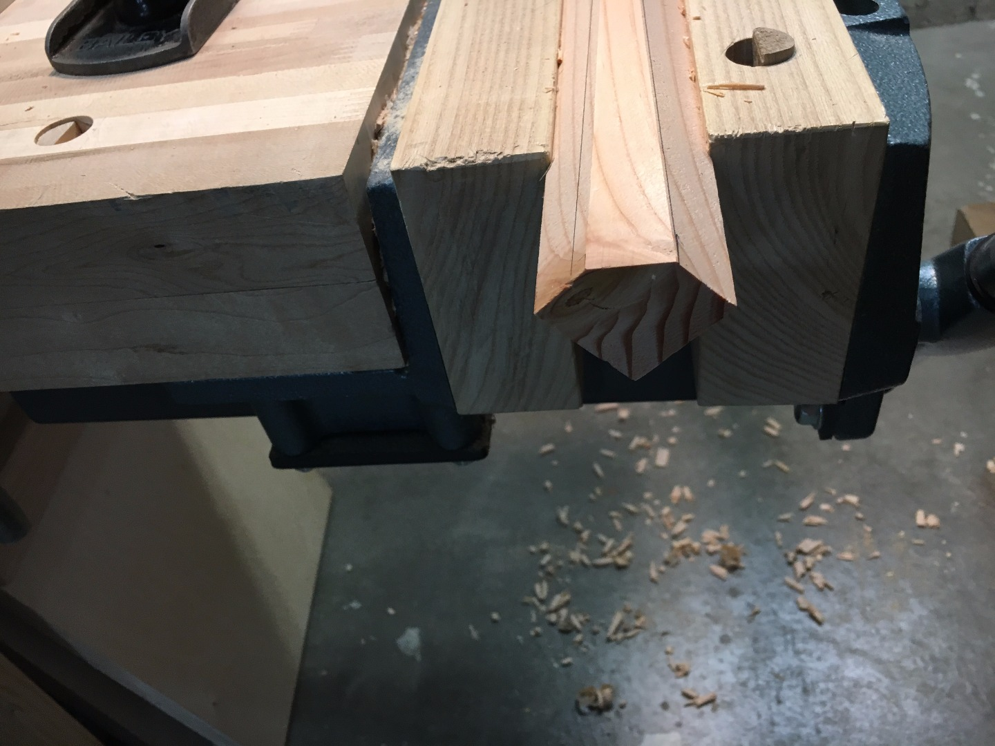 Picture of Drill Holes for the Adjustable Shelf/music Holder