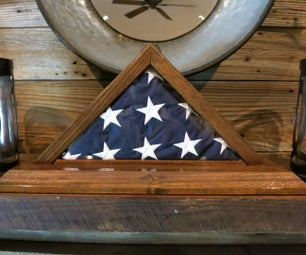 Miter/Dovetail Flag Case - Unplugged!