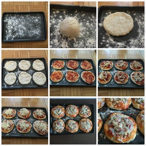 Making of Pizza